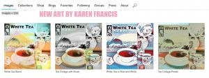 Four TEA New Works By Karen Francis